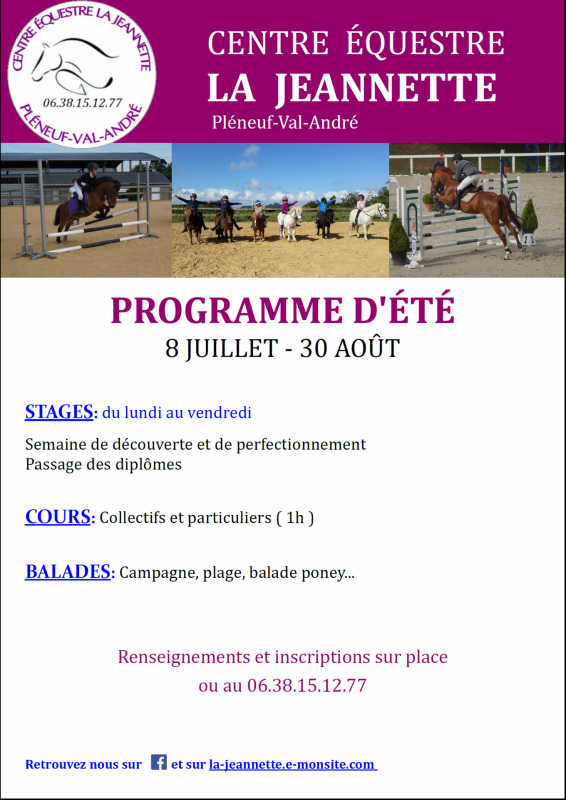 Stages ete 2019 paint